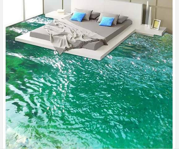 Amazing 3D Floor Painting Properties Nigeria