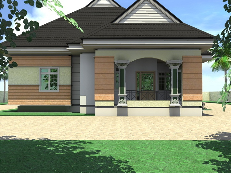 88 4 bedroom bungalow pictures 4 bedroom bungalow for for Nigerian architectural designs