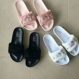 e7d5cc135a8 Original Puma Fenty Fur Slippers for only #13,999.... available in  different colors..To place an order please contact us via call/WhatsApp on  07084024061.
