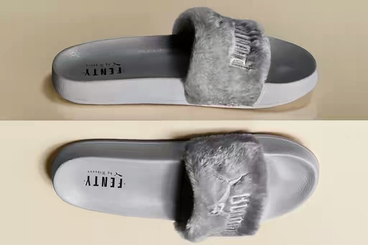 936e028ddfa9 Puma Fenty Faux Fur Slippers By Rihanna...at Attractive Price ...