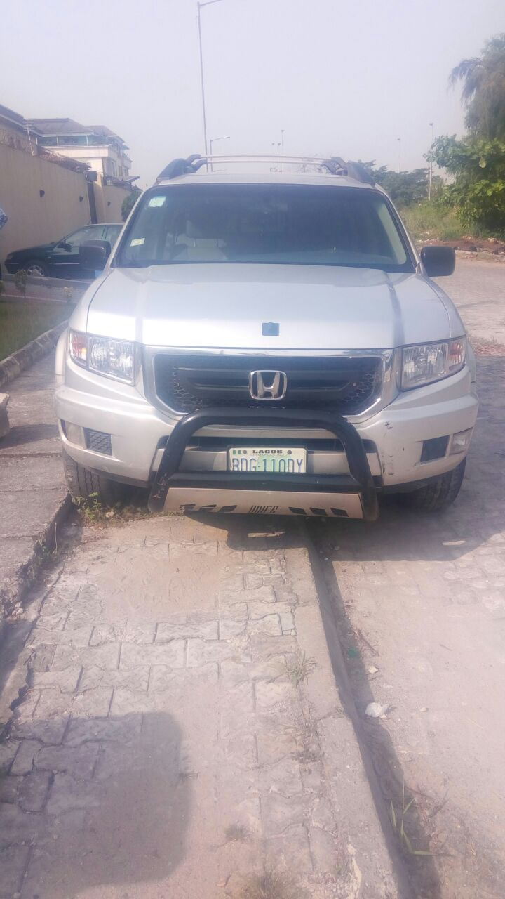 reg 2010 honda ridgeline buy and drive for sale autos nigeria. Black Bedroom Furniture Sets. Home Design Ideas