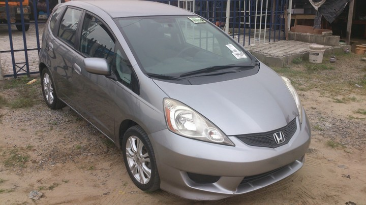 2009 honda fit sport 1 5l fwd for sale asking see pictures autos nigeria. Black Bedroom Furniture Sets. Home Design Ideas