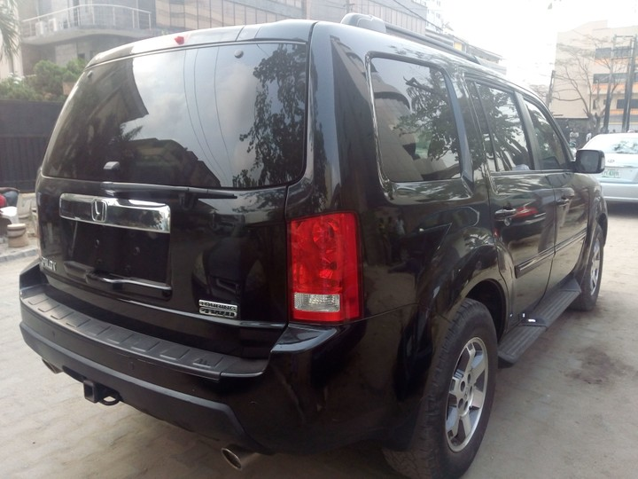 2011 Honda Pilot Touring Direct Tokunbo For Sale 6 2m