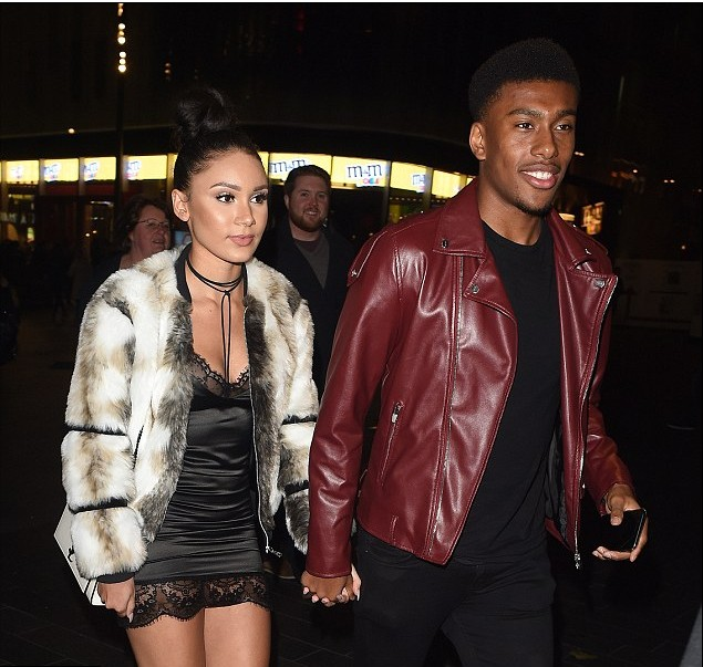 Image result for alex iwobi and girlfriend