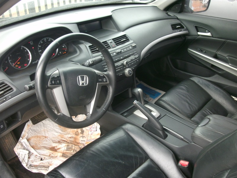 Registered 2008 Honda Accord Ex L Leather Interior 3 5l