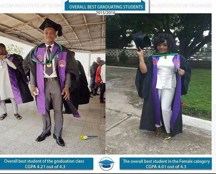See The 2 Nigerians That Broke Academic Records In Ghana (Photos)