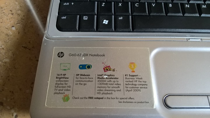 HP G60-635DX NOTEBOOK DRIVERS FOR WINDOWS DOWNLOAD