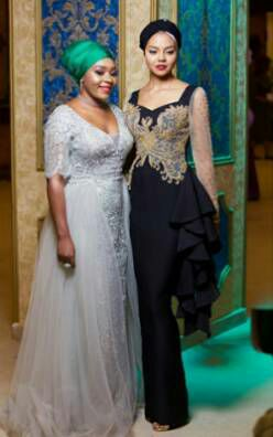 adama indimi at her brother ahmeds wedding to zahra