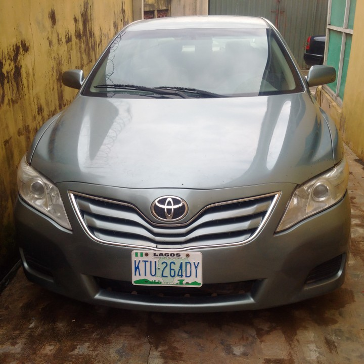 2011 Toyota Camry Le Forest Green Colour Full Option