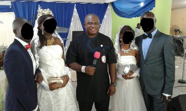 2 Former Sex Workers Wed In Port Harcourt Church (See Photo)
