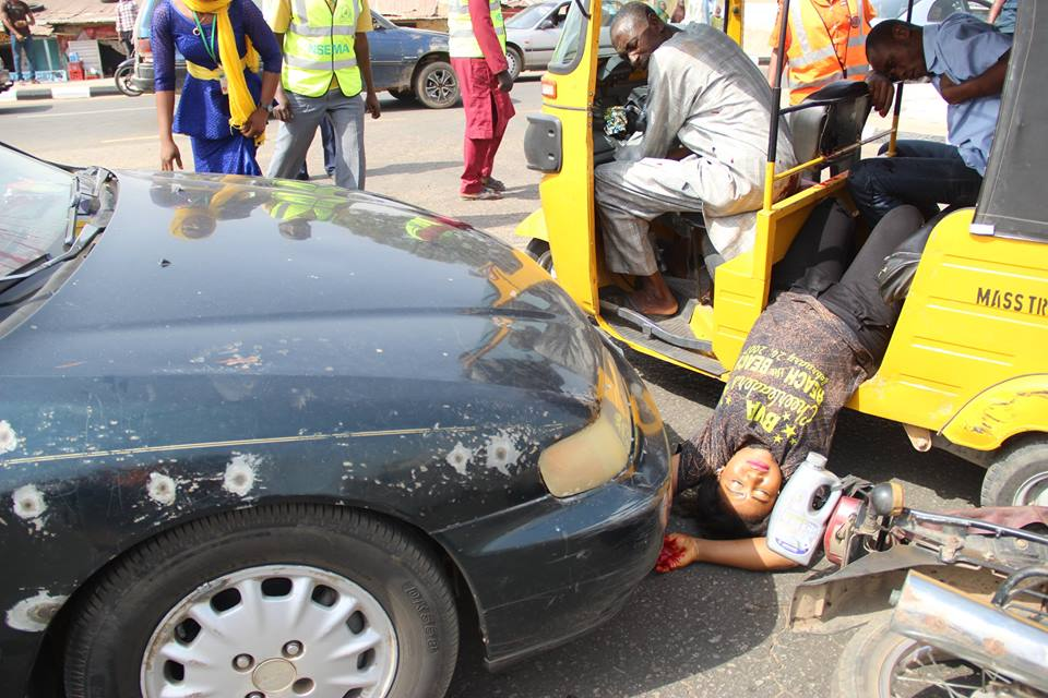Accident Simulation Causes Scare In Niger State. See What Happened ...