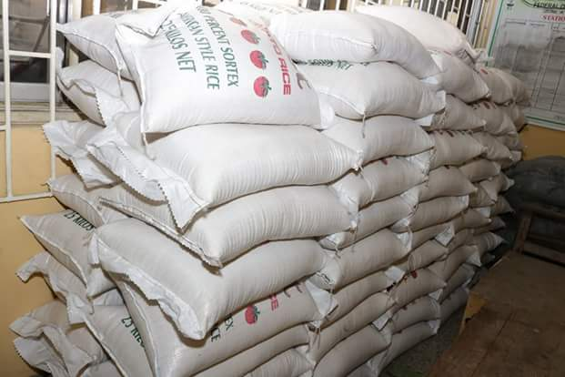 See Photos Of The Plastic Rice Intercepted By Customs In Ikeja, Lagos