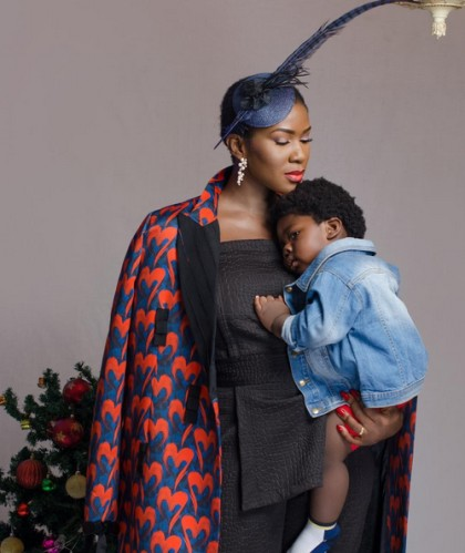 Stephanie Okereke Linus And Her Son In New Warmth Lovely