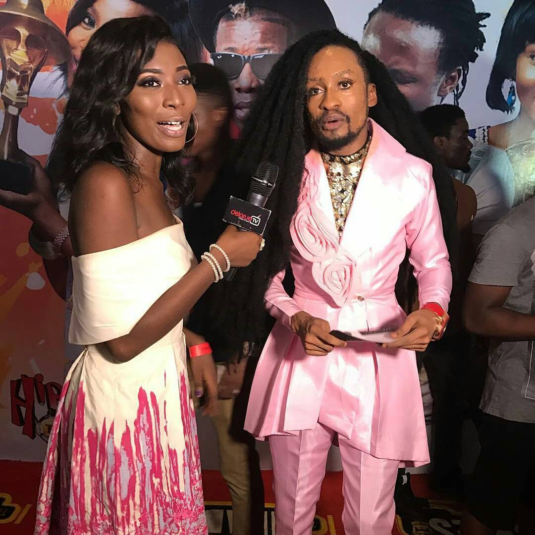 Denrele's PhotoOutfit  at The Headies 2016