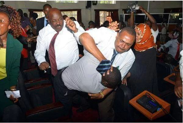 Image result for nigerian politicians fighting