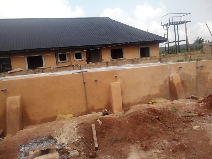 My Fish Pond Construction Project In Benin City
