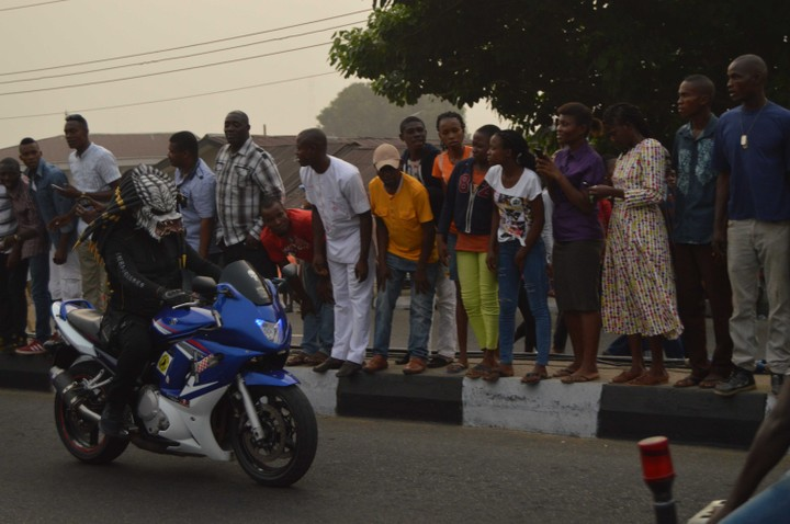 Photos From The Calabar Bikers Festival