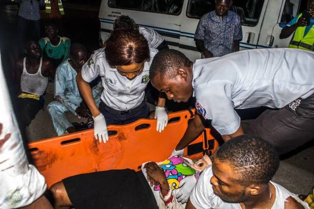 Image result for emergency response team at night in nigeria