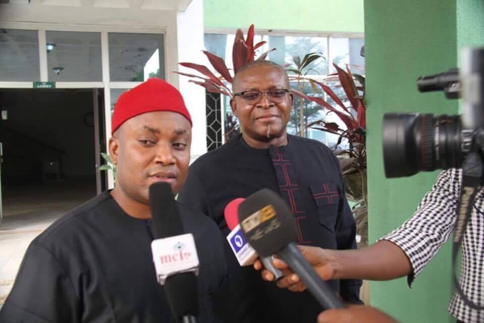 Image result for Abia Assembly elects two speakers in 24 hrs