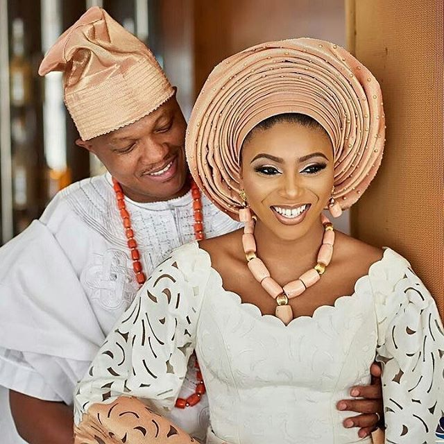 Photos From Media Personality, Stephanie Coker's Traditional Wedding