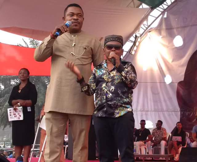 Osita Iheme, Victor Osuagwu & Klint Da Drunk At Rivers PDP End Of Year Party (Photos)