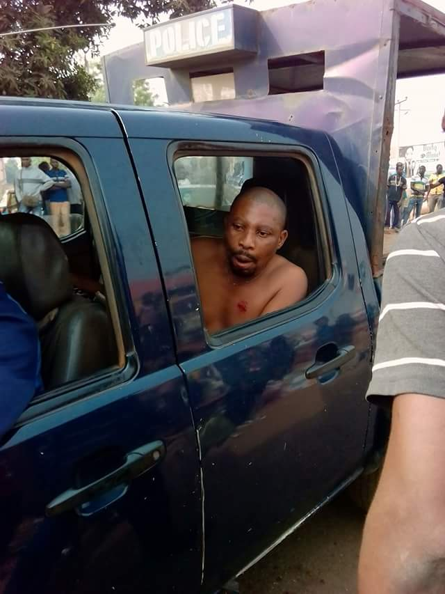 Delta Traffic Officer Bites A Motorist (Photos)