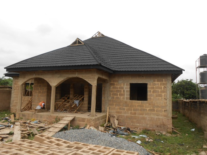 Check Out Picture Of The Wood Work For Stone Coated And