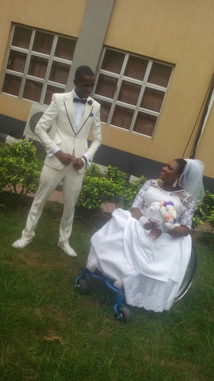 'Family Cut Me Off Because I Married A Woman On Wheelchair'