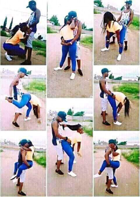 Check Out This Pre Wedding Picture That Got People Talking Jokes