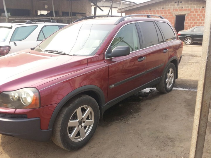 neat volvo xc90 suv for sale sold sold autos nigeria. Black Bedroom Furniture Sets. Home Design Ideas