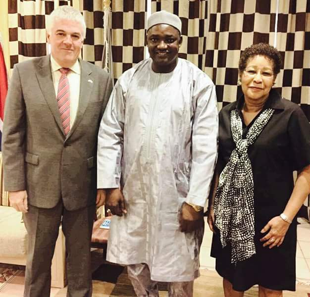 Gambian President-elect Adama Barrow Releases New Photos 2day 2 Show He's Alive - Foreign Affairs