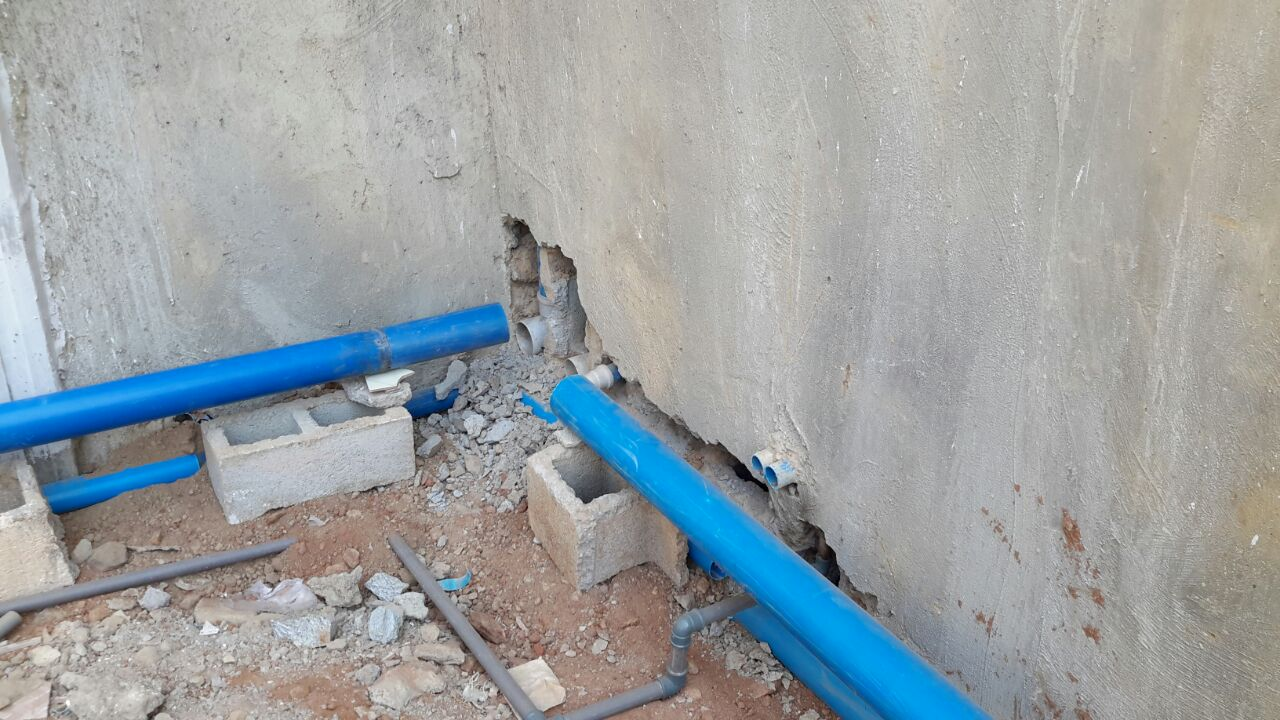 How do i build a septic tank soakaway in this situation for How to build a septic tank