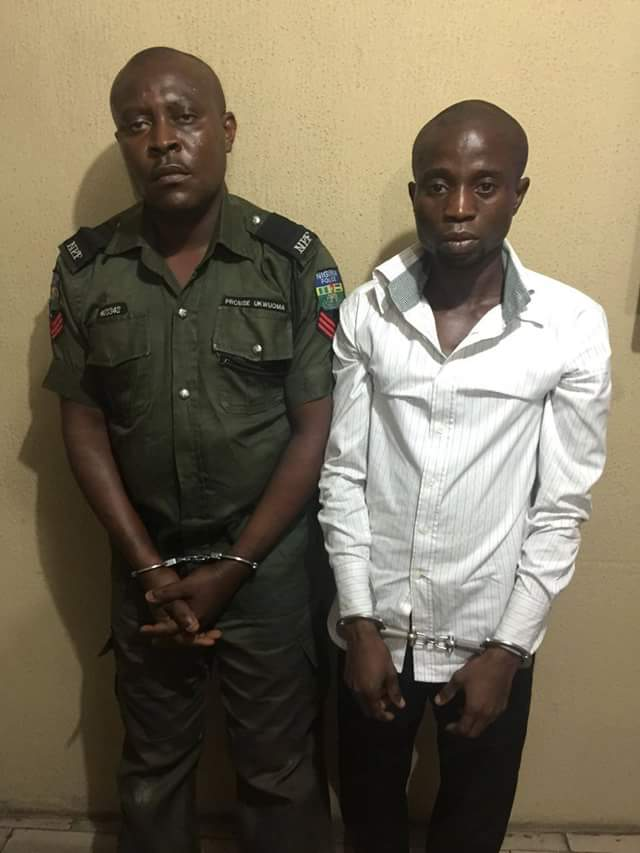 Police Foil Armed Robbery Attack In Rivers, Arrest Policeman Who Rob Banks (Photos)