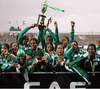 Glo-CAF Award: Nigeria Wins Women's National Team Of The Year Award