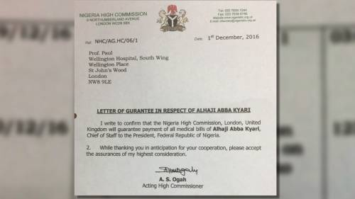 """Abba Kyari, Aisha Buhari, Others Bleed Nigeria High Commission In London"