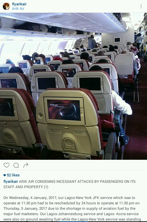 Arik Flight Blames FG For The Attack Of Its Manager By Passangers