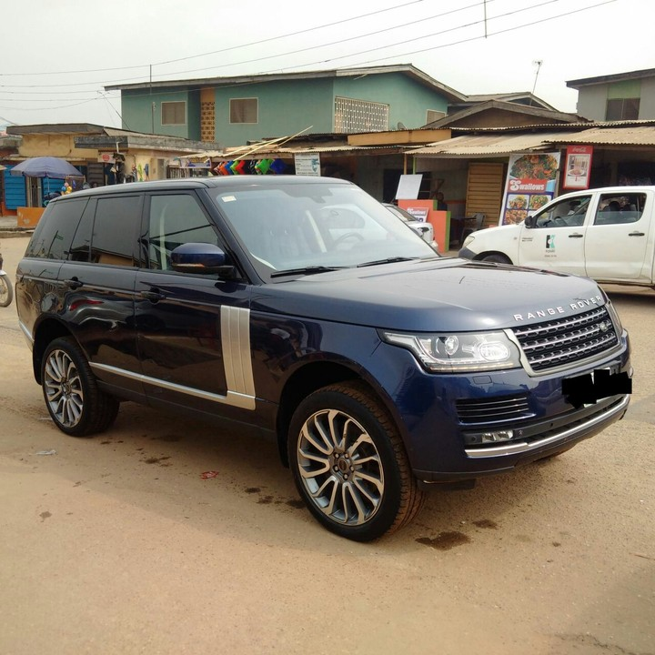 An Ultra Clean Nigerian Used 2014 Range Rover