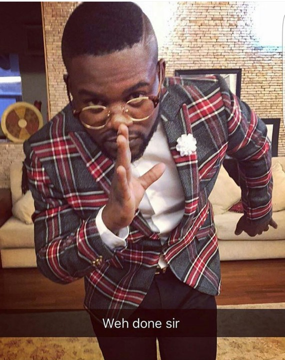 Image result for falz well done sir gif