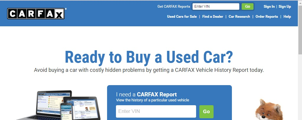 Carfax Vehicle History Report Record Contact 08060365068