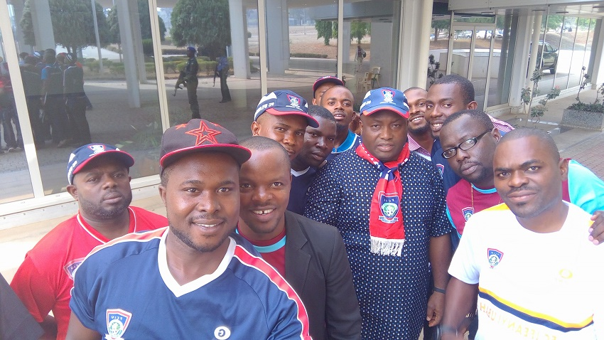 Ifeanyi Ubah Gifts N1m To His Players For Winning Charity Cup (pics
