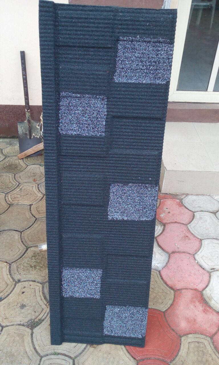 The Collection Sample Of Stone Coated Roofing Tile For