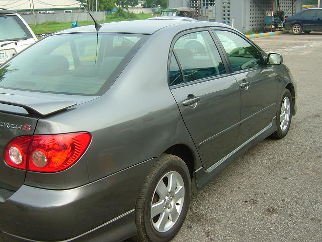 2006 toyota corolla sport for sale 2m autos nigeria. Black Bedroom Furniture Sets. Home Design Ideas