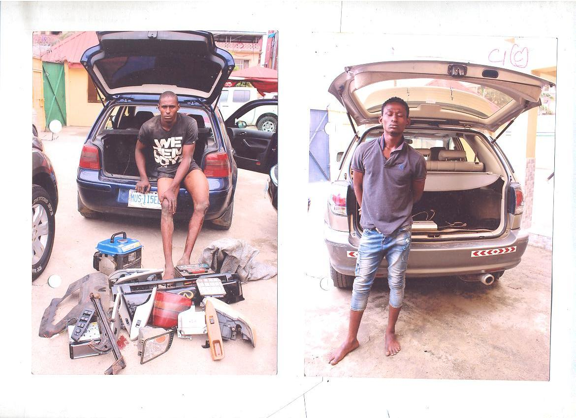 Federal SARS arrests two notorious Armed Robbers