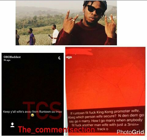 Singer Runtown Accused Of Sleeping With Promoter's Fiancée (Photos)