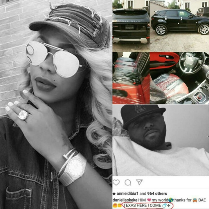 Actress Daniella Okeke Gets Secretly Engaged To Lover In Texas