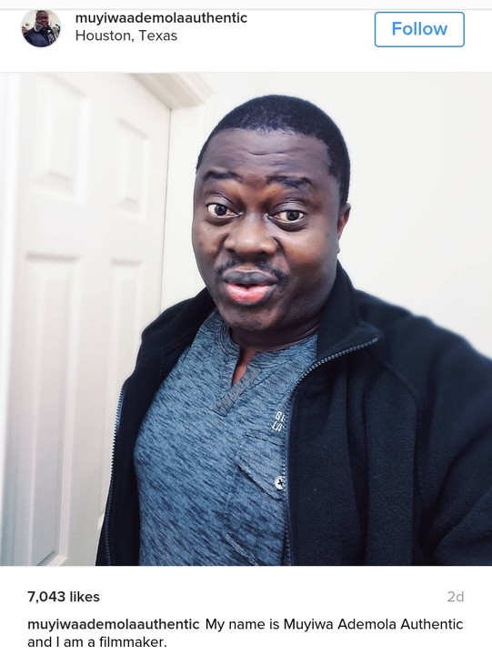 [Photo] A Fan Gave Muyiwa Ademola A Car And Some Dollars For A Film (ORI) He Did 14years Ago
