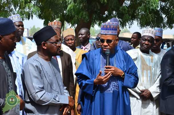 Borno Governor, Shettima Visits Scene Of Bomb Blast At University Of Maiduguri (Photos)