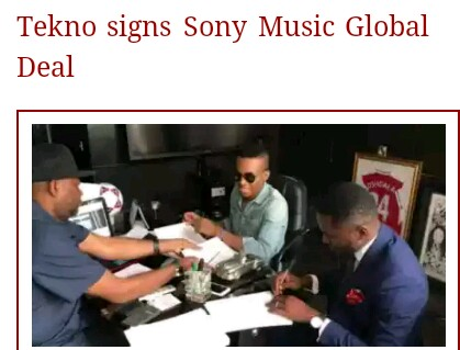International Record Deals : What Nigerian Artists Need To Know