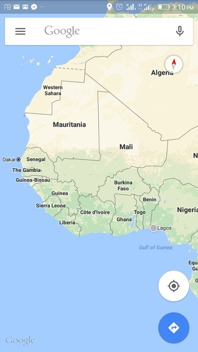 Gambia On Africa Map.The Gambia Map In West Africa Foreign Affairs Nigeria