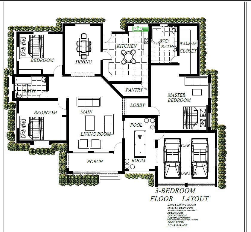 Affordable House Plans For Nairalanders Properties Nigeria,Decorating Homes For Christmas
